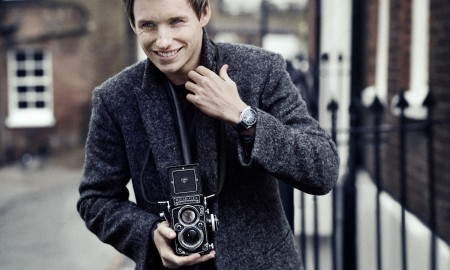 Eddie Redmayne becomes International Ambassador for Omega