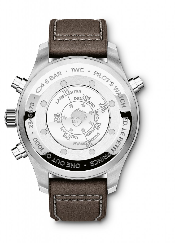 "IWC Pilot's Watch Double Chronograph Edition ""Le Petit Prince"""