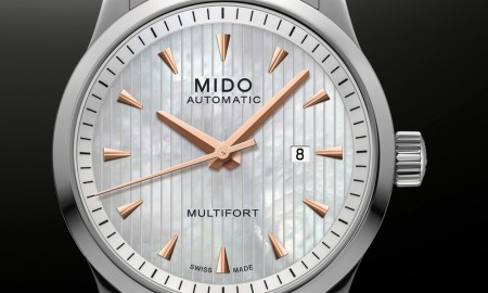 Mido Multifort Lady Mother-of-Pearl
