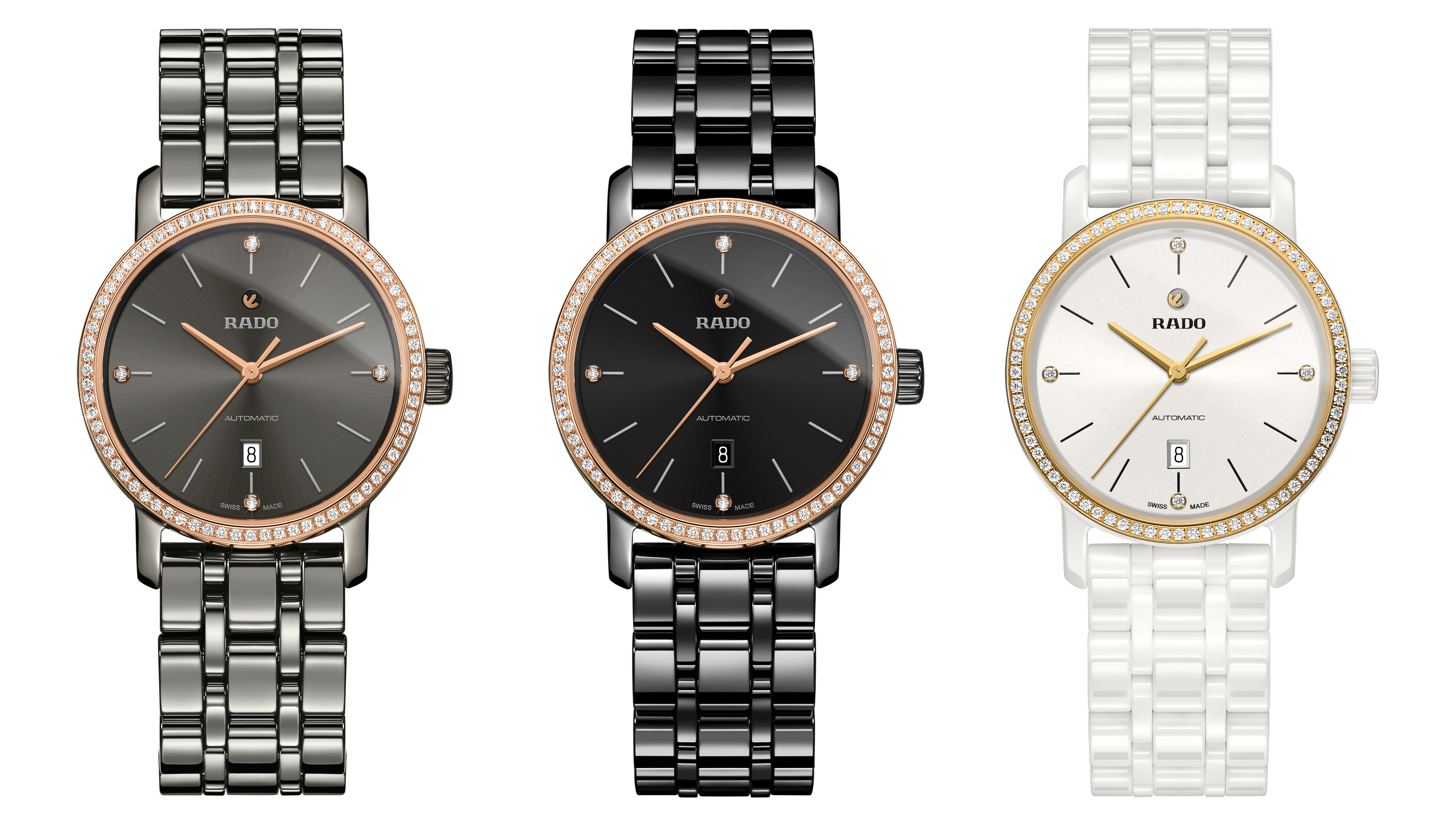 the rado diamaster diamonds range watchesindex. Black Bedroom Furniture Sets. Home Design Ideas