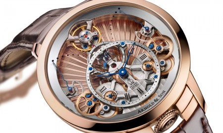 Arnold & Son Time Pyramid Guilloché
