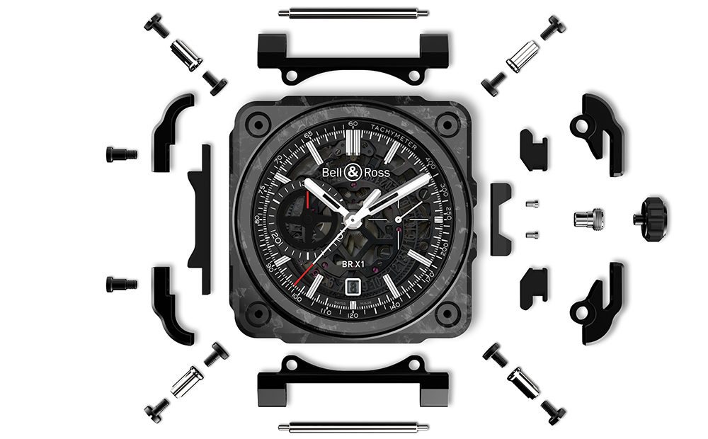 Bell & Ross - BR-X1 Skeleton Chronograph