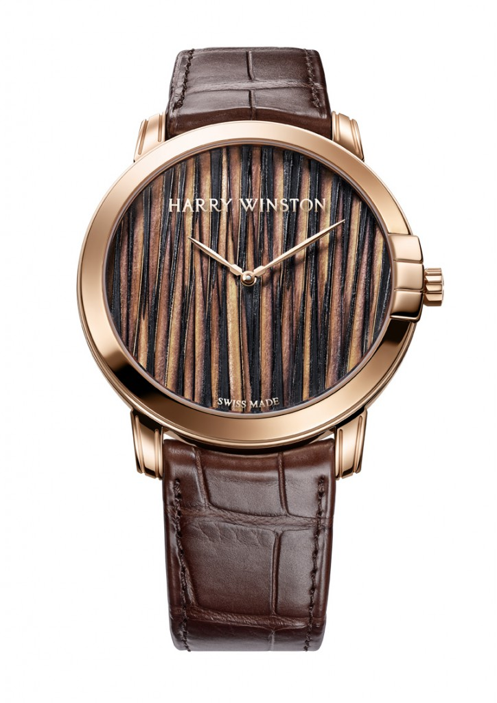 Harry Winston - Midnight Feathers Automatic