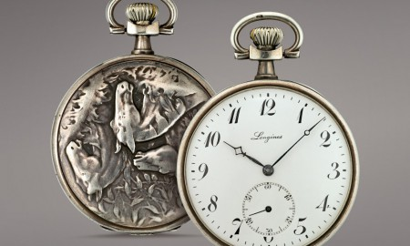 Longines Equestrian Pocket Watch Horses Trio 1911