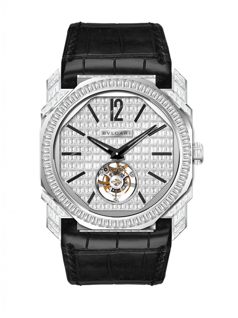 Bulgari Octo Tourbillion Full Diamonds