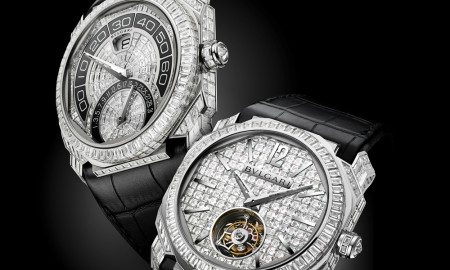 Bulgari Octo Tourbillion Full Diamonds and Octo Bi-Retrograde Full Diamonds
