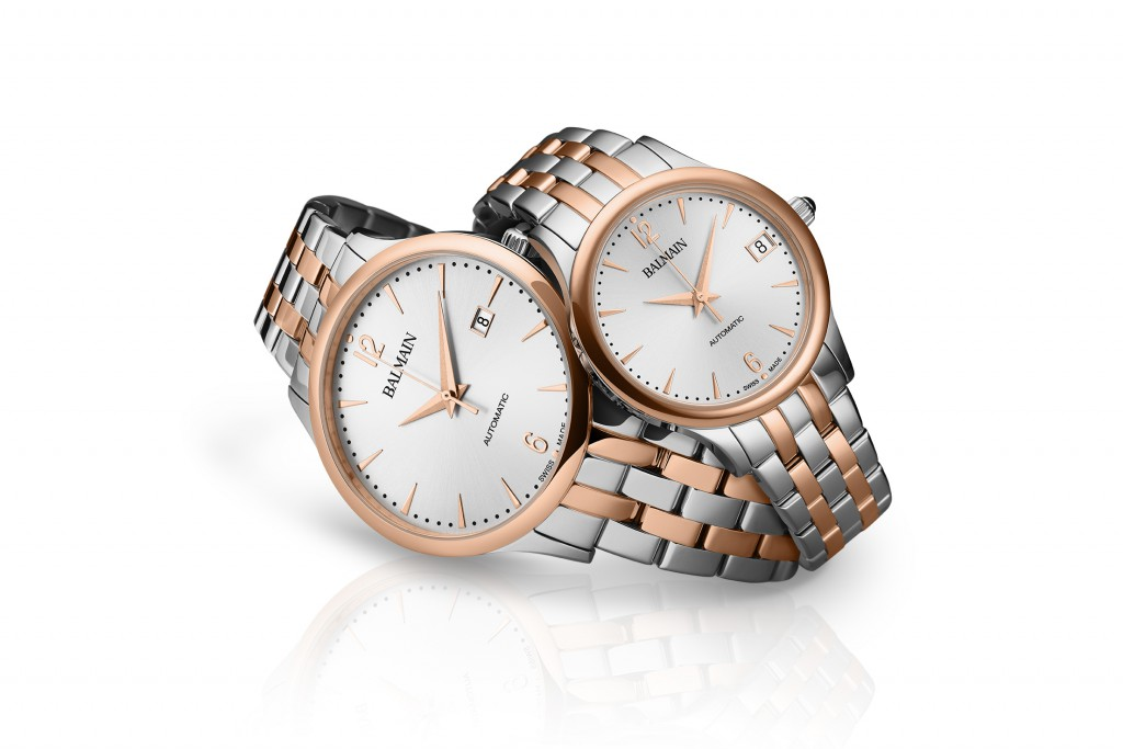 Balmain introduces Classic R Automatic for Him and Her