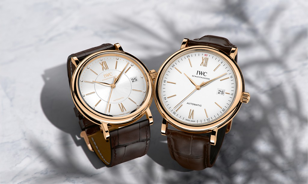 IWC Schaffhausen unveils Portofino For Two
